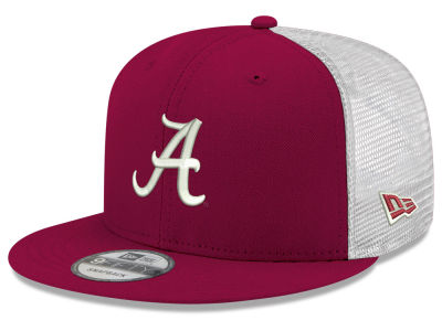 Alabama Crimson Tide New Era NCAA Team Color Meshback 9FIFTY Snapback Cap 4d4d53417230
