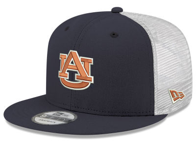 6220e5b0c91 Auburn Tigers New Era NCAA Team Color Meshback 9FIFTY Snapback Cap