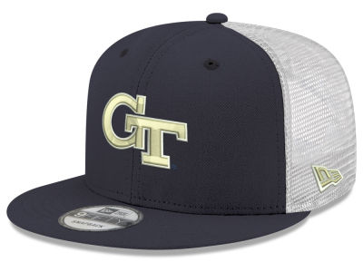 e28b5b4cd7a Georgia Tech New Era NCAA Team Color Meshback 9FIFTY Snapback Cap