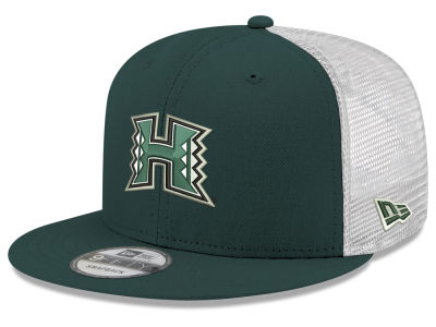 Hawaii Warriors New Era NCAA Team Color Meshback 9FIFTY Snapback Cap 46d62e35e45