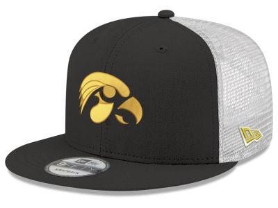 Iowa Hawkeyes New Era NCAA Team Color Meshback 9FIFTY Snapback Cap df6ae6e55300