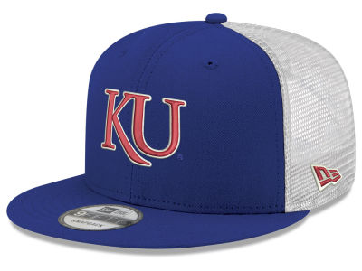 4b28729f254 Kansas Jayhawks New Era NCAA Team Color Meshback 9FIFTY Snapback Cap