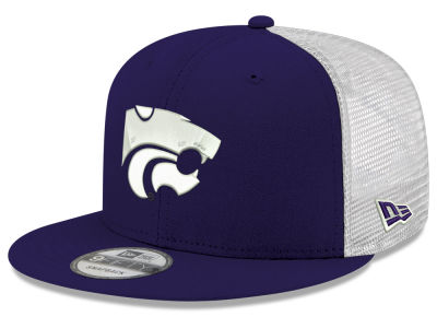 52bbb39a0 Kansas State Wildcats New Era NCAA Team Color Meshback 9FIFTY Snapback Cap