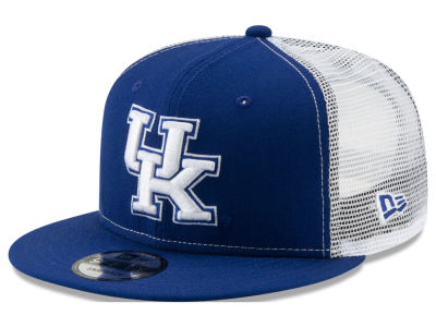 Kentucky Wildcats New Era NCAA Team Color Meshback 9FIFTY Snapback Cap 3e91d47a15a7
