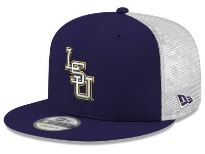 0970aafcbd2 LSU Tigers New Era NCAA Team Color Meshback 9FIFTY Snapback Cap