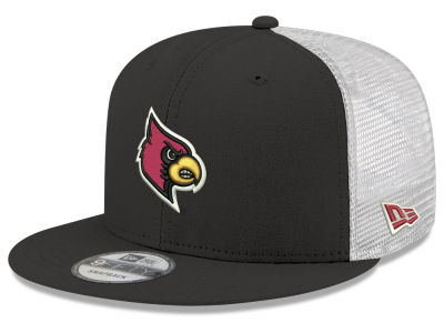 Louisville Cardinals New Era NCAA Team Color Meshback 9FIFTY Snapback Cap 93fa610b5