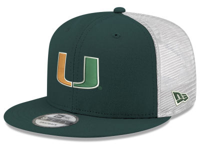 Miami Hurricanes New Era NCAA Team Color Meshback 9FIFTY Snapback Cap 4abfeda2114