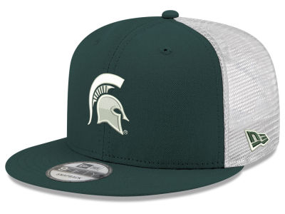 Michigan State Spartans New Era NCAA Team Color Meshback 9FIFTY Snapback Cap 5662d3421