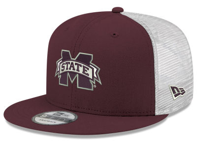 2d53c158dcc Mississippi State Bulldogs New Era NCAA Team Color Meshback 9FIFTY Snapback  Cap