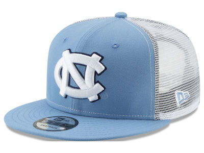 c05b045d587 North Carolina Tar Heels New Era NCAA Team Color Meshback 9FIFTY Snapback  Cap