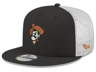 66d904bdd9e Oklahoma State Cowboys New Era NCAA Team Color Meshback 9FIFTY Snapback Cap