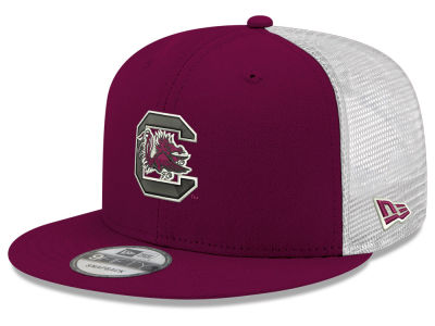 d86caacf7d6 South Carolina Gamecocks New Era NCAA Team Color Meshback 9FIFTY Snapback  Cap