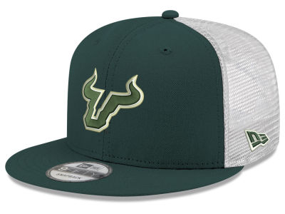 772ff9b102a South Florida Bulls New Era NCAA Team Color Meshback 9FIFTY Snapback Cap