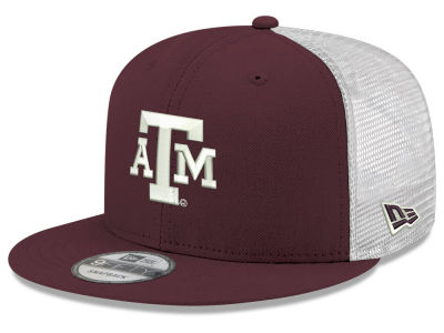 c0612efbeec Texas A M Aggies New Era NCAA Team Color Meshback 9FIFTY Snapback Cap