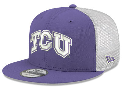 8e3030feab6 Texas Christian Horned Frogs New Era NCAA Team Color Meshback 9FIFTY Snapback  Cap