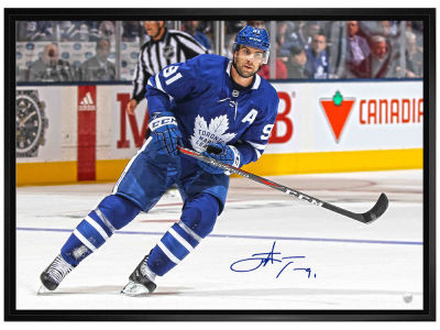 Toronto Maple Leafs Frameworth MLB Signed 20x29 Framed Canvas