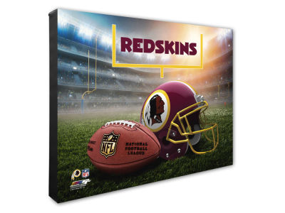 "Washington Redskins Photo File NFL Helmet / Stadium Composite 16"" x 20""  Canvas Photo"