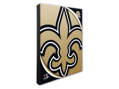 New Orleans Saints Photo File NFL Team Logo 16 x 20 Canvas Photo