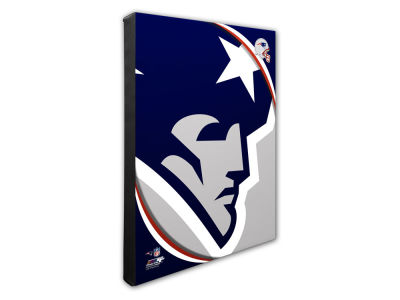 New England Patriots Photo File NFL Team Logo 16 x 20 Canvas Photo