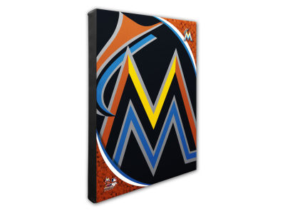 Miami Marlins Photo File NFL Team Logo 16 x 20 Canvas Photo