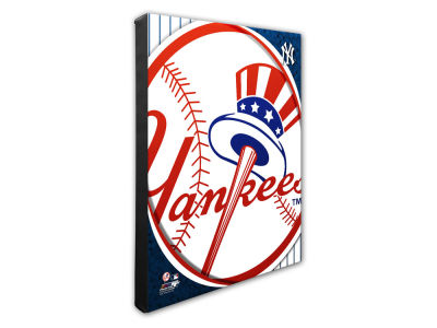 New York Yankees Photo File NFL Team Logo 16 x 20 Canvas Photo