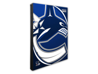 Vancouver Canucks Photo File NFL Team Logo 16 x 20 Canvas Photo