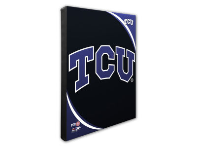 Texas Christian Horned Frogs Photo File NFL Team Logo 16 x 20 Canvas Photo