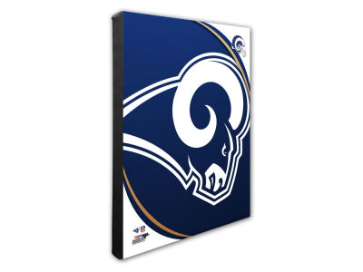 Los Angeles Rams Photo File Team Logo 20 x 24 Canvas Photo