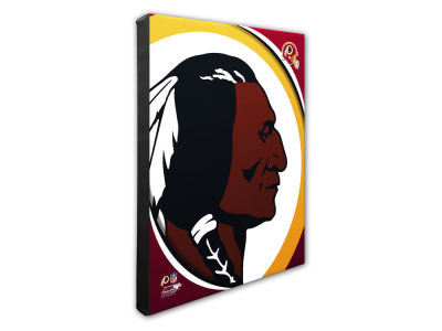 Washington Redskins Photo File Team Logo 20 x 24 Canvas Photo