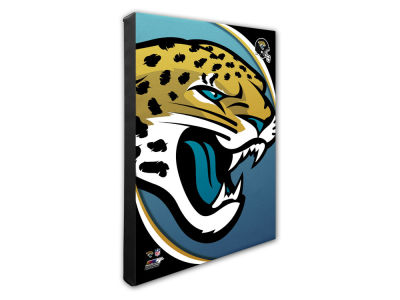 Jacksonville Jaguars Photo File Team Logo 20 x 24 Canvas Photo