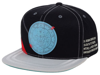 Vancouver Grizzlies Mitchell & Ness NBA On Point Snapback Cap