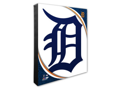 Detroit Tigers Photo File Team Logo 20 x 24 Canvas Photo