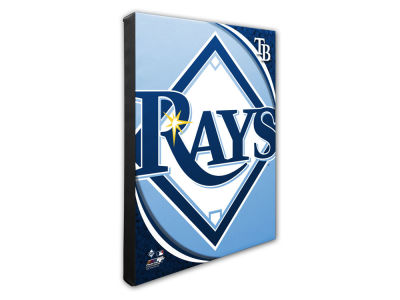Tampa Bay Rays Photo File Team Logo 20 x 24 Canvas Photo