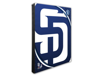 San Diego Padres Photo File Team Logo 20 x 24 Canvas Photo