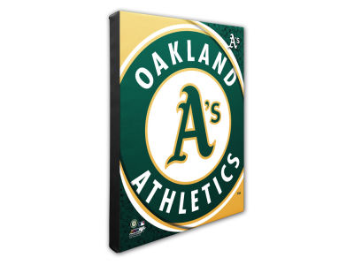 Oakland Athletics Photo File Team Logo 20 x 24 Canvas Photo
