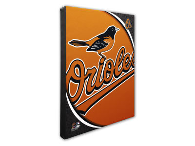 Baltimore Orioles Photo File Team Logo 20 x 24 Canvas Photo