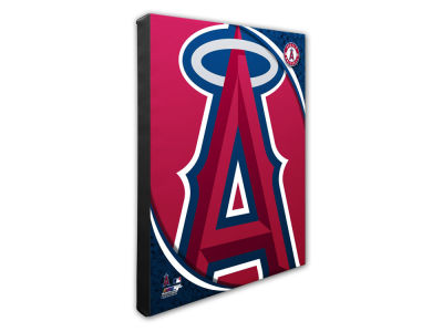 Los Angeles Angels Photo File Team Logo 20 x 24 Canvas Photo