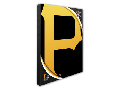 Pittsburgh Pirates Photo File Team Logo 20 x 24 Canvas Photo
