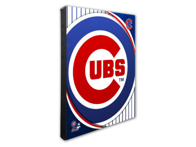 Chicago Cubs Photo File Team Logo 20 x 24 Canvas Photo
