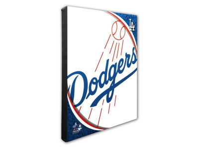 Los Angeles Dodgers Photo File Team Logo 20 x 24 Canvas Photo