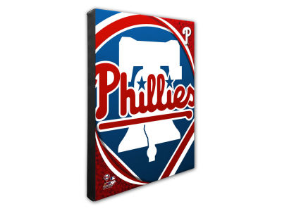 Philadelphia Phillies Photo File Team Logo 20 x 24 Canvas Photo