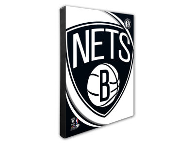 Brooklyn Nets Photo File Team Logo 20 x 24 Canvas Photo