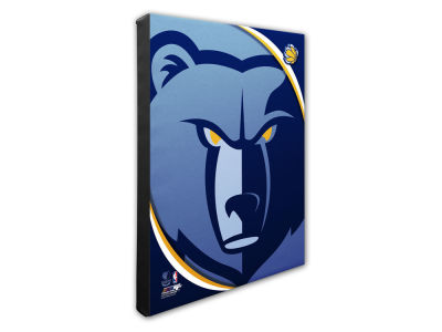 Memphis Grizzlies Photo File Team Logo 20 x 24 Canvas Photo