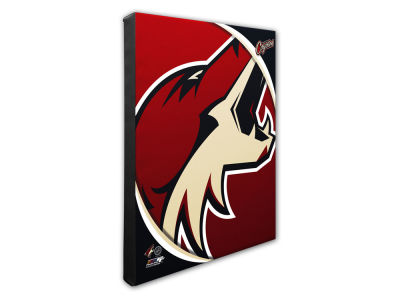 Arizona Coyotes Photo File Team Logo 20 x 24 Canvas Photo