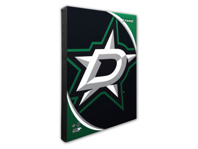 Dallas Stars Photo File Team Logo 20 x 24 Canvas Photo