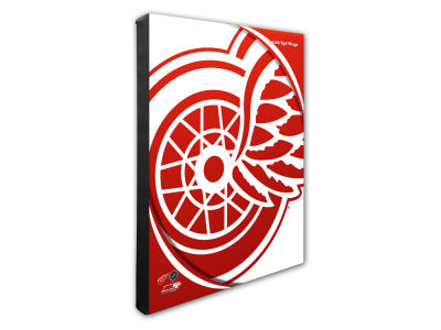 Detroit Red Wings Photo File Team Logo 20 x 24 Canvas Photo