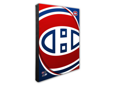 Montreal Canadiens Photo File Team Logo 20 x 24 Canvas Photo