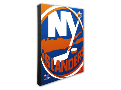 New York Islanders Photo File Team Logo 20 x 24 Canvas Photo