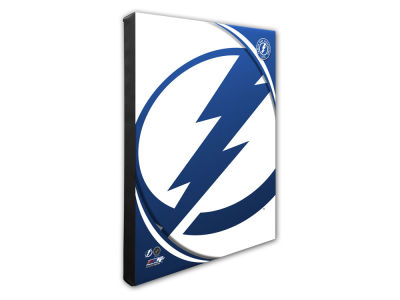 Tampa Bay Lightning Photo File Team Logo 20 x 24 Canvas Photo