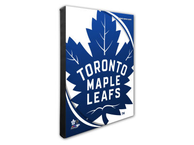 Toronto Maple Leafs Photo File Team Logo 20 x 24 Canvas Photo